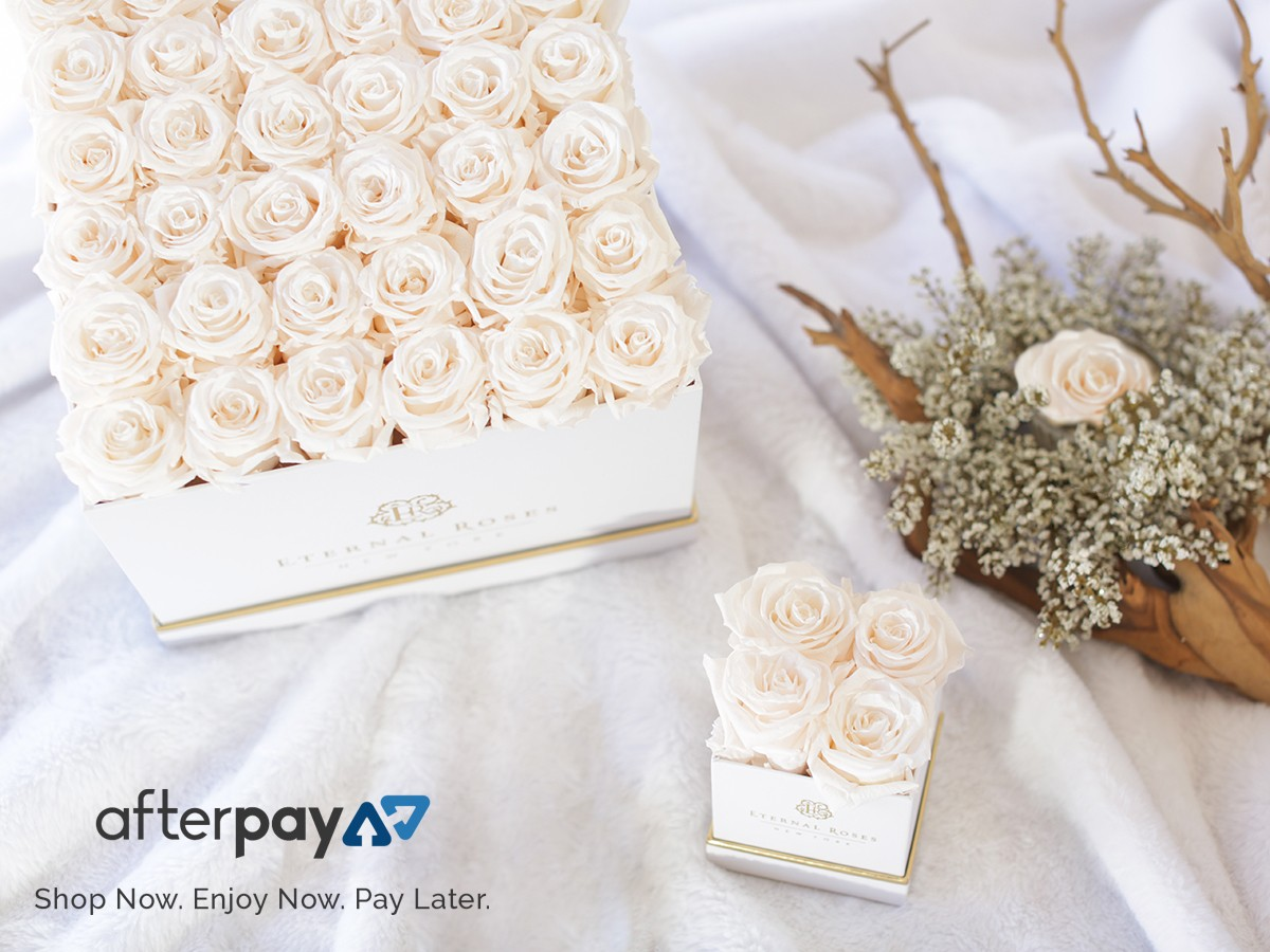 Afterpay Availability of Eternal Roses