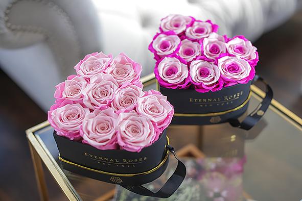 Heart Shaped Romantic Roses