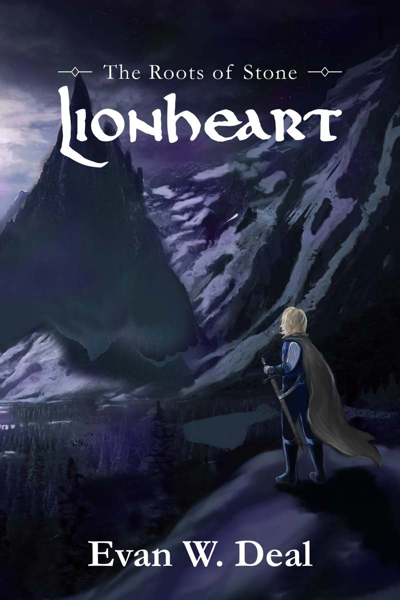 Lionheart Book One of The Roots of Stone Cover kraked