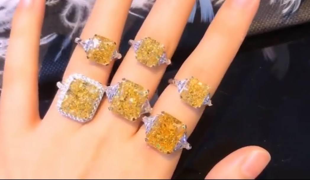 Diamond Veneer Cubic Zirconia Jewelry the finest in the World