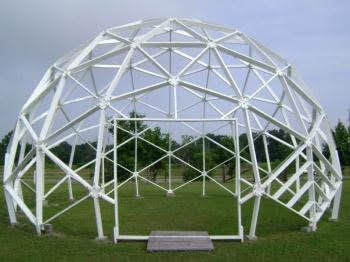 36 Foot Diameter Dodecahedron Superstructure