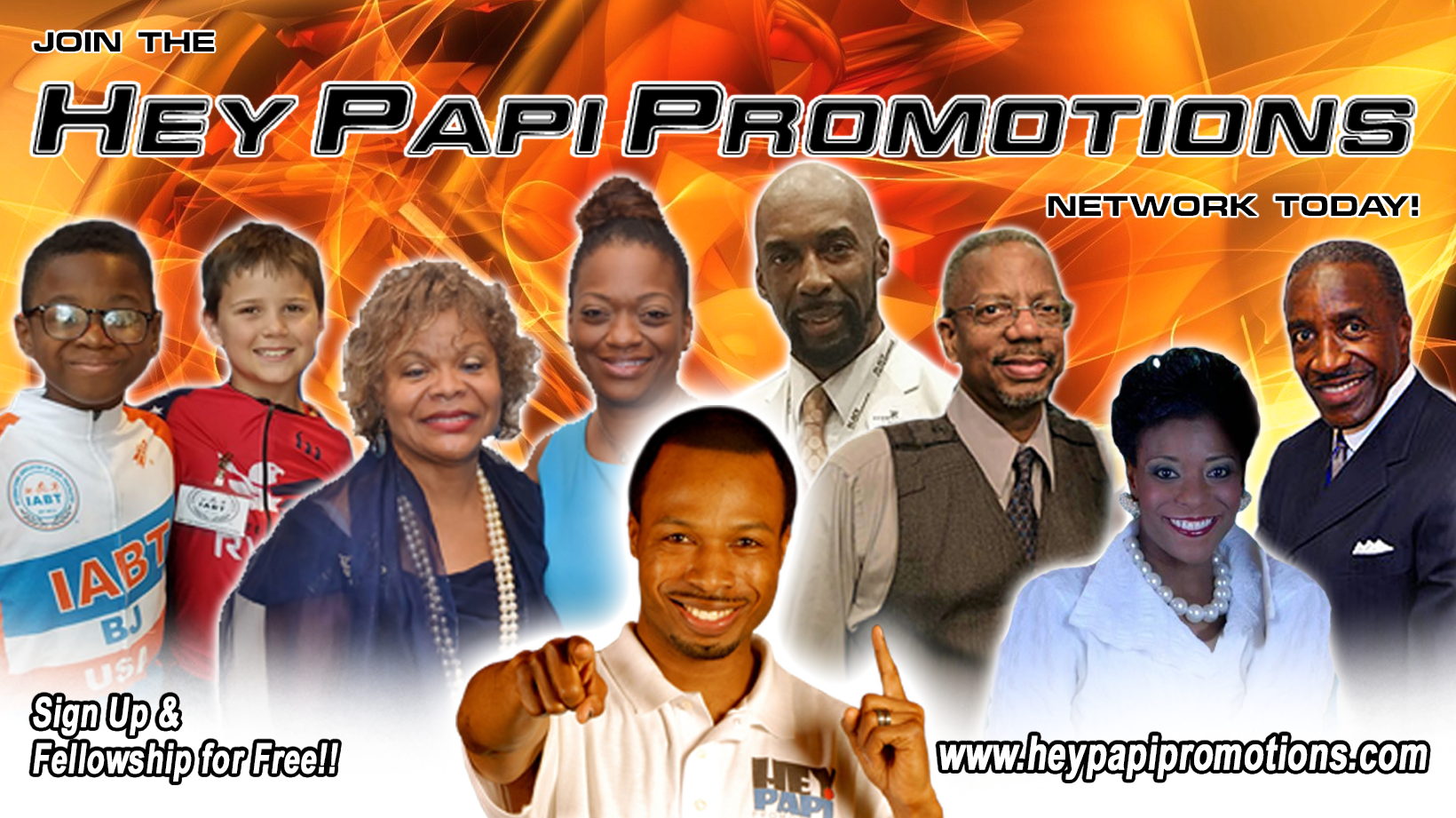 Hey Papi Promotions NEW Website Launch Event