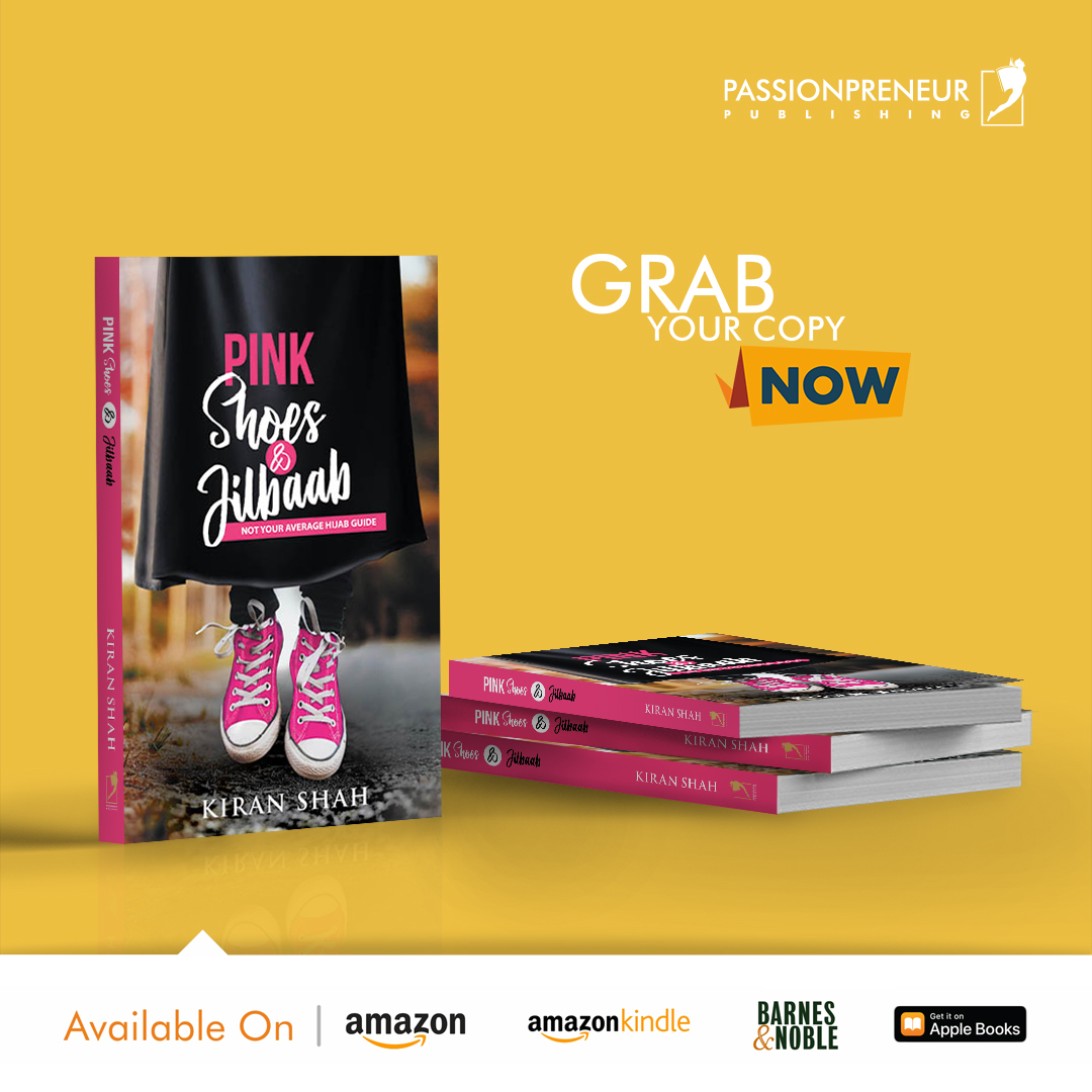 Pink Shoes and Jilbaab Grab Your Copy Now