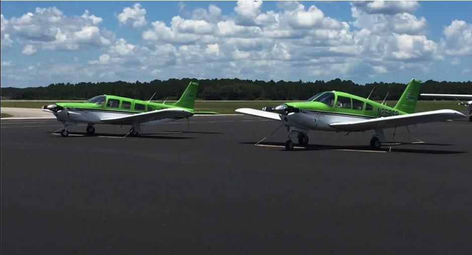 Skybound Aviation Green Aircraft