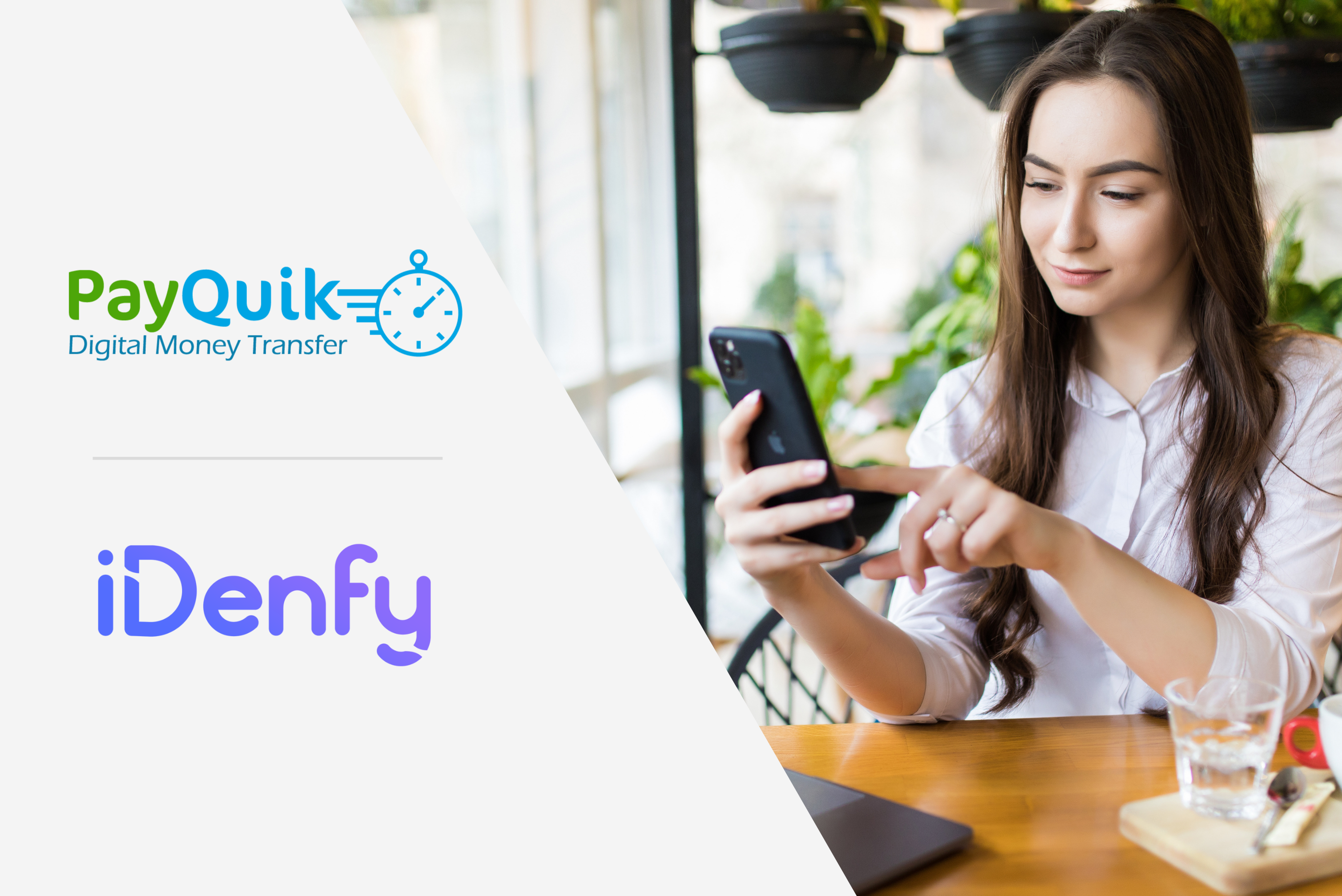 PayQuick and iDenfy partnership announcement
