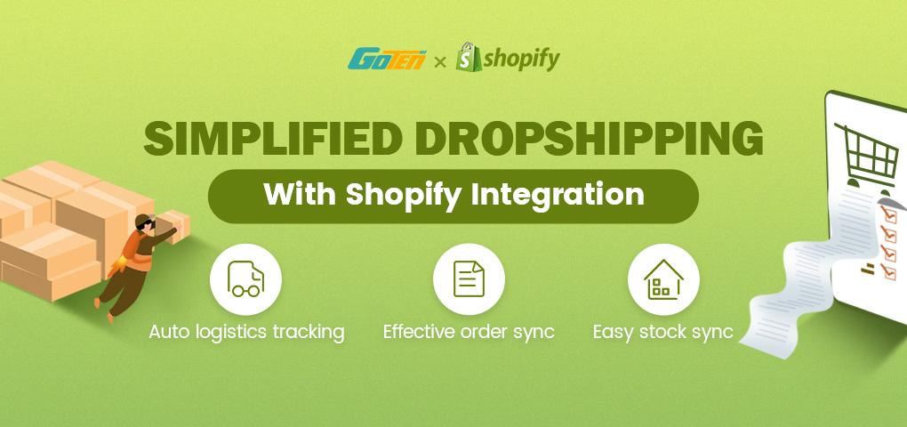 shopify integration goten