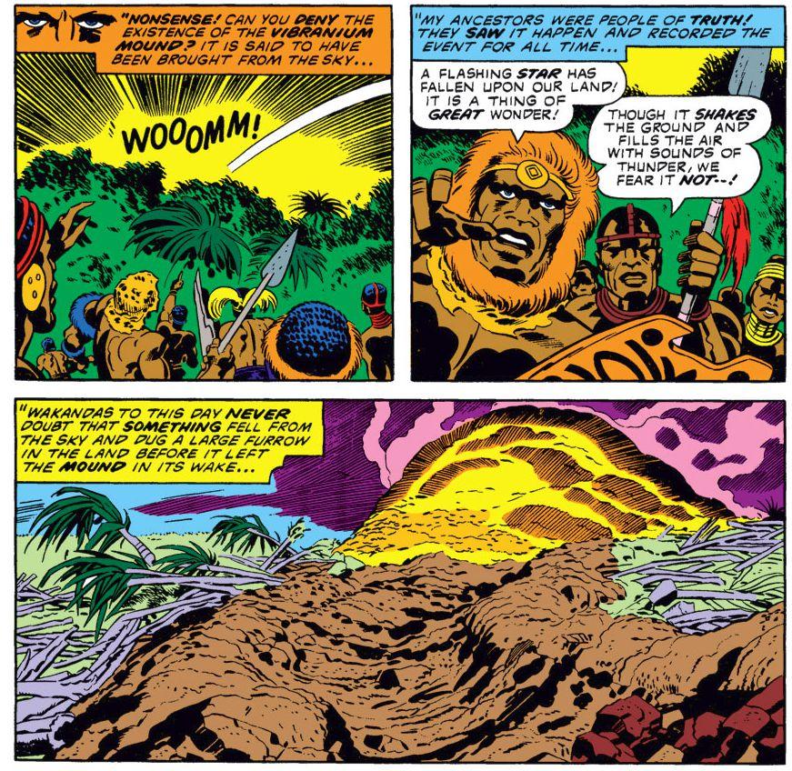 History of The Great Mound of Wakanda Mena Ngai