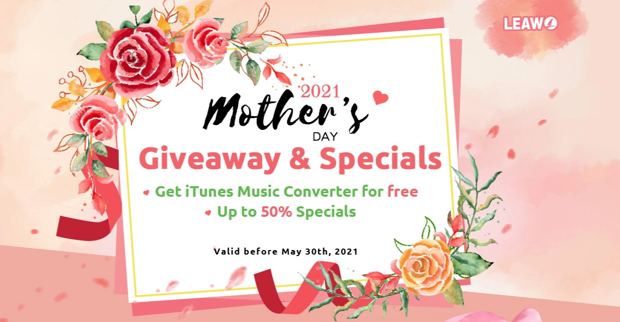 Leawo Mothers Day Deals