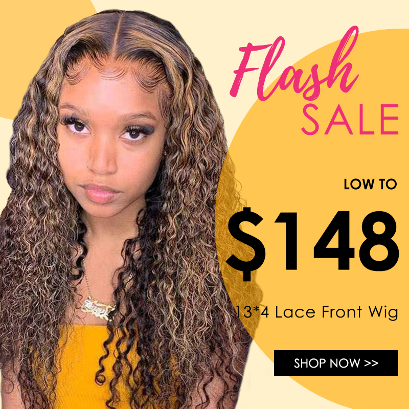 Brown Curly Wig