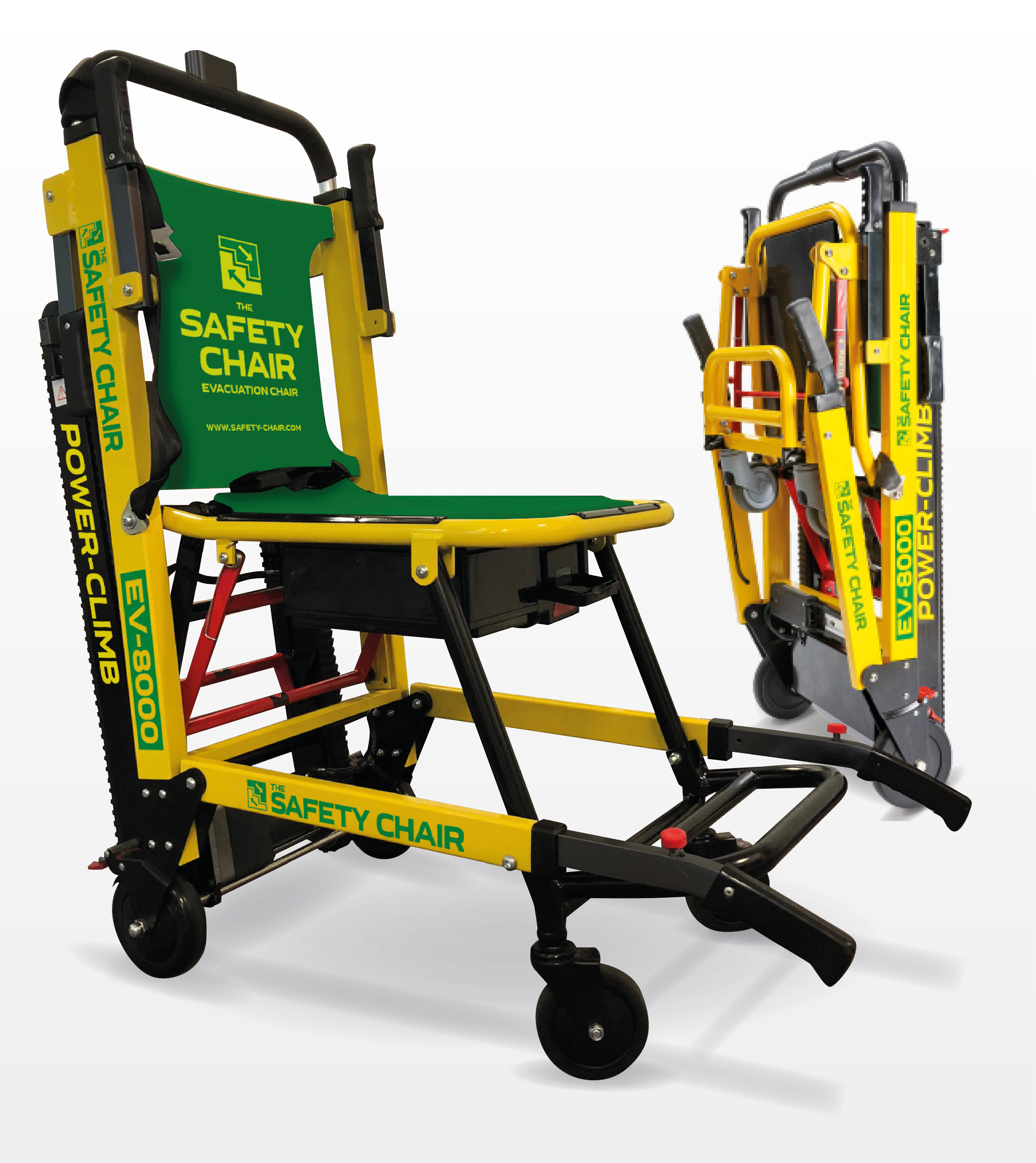 EV8000 battery operated evacuation chair