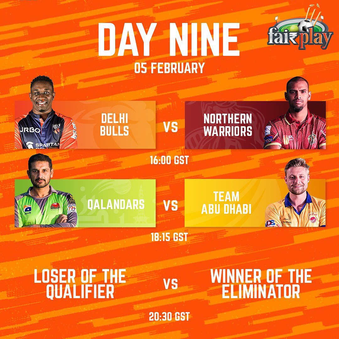 FAIRPLAY NEWS Abu Dhabi T10 Battle for the Finals