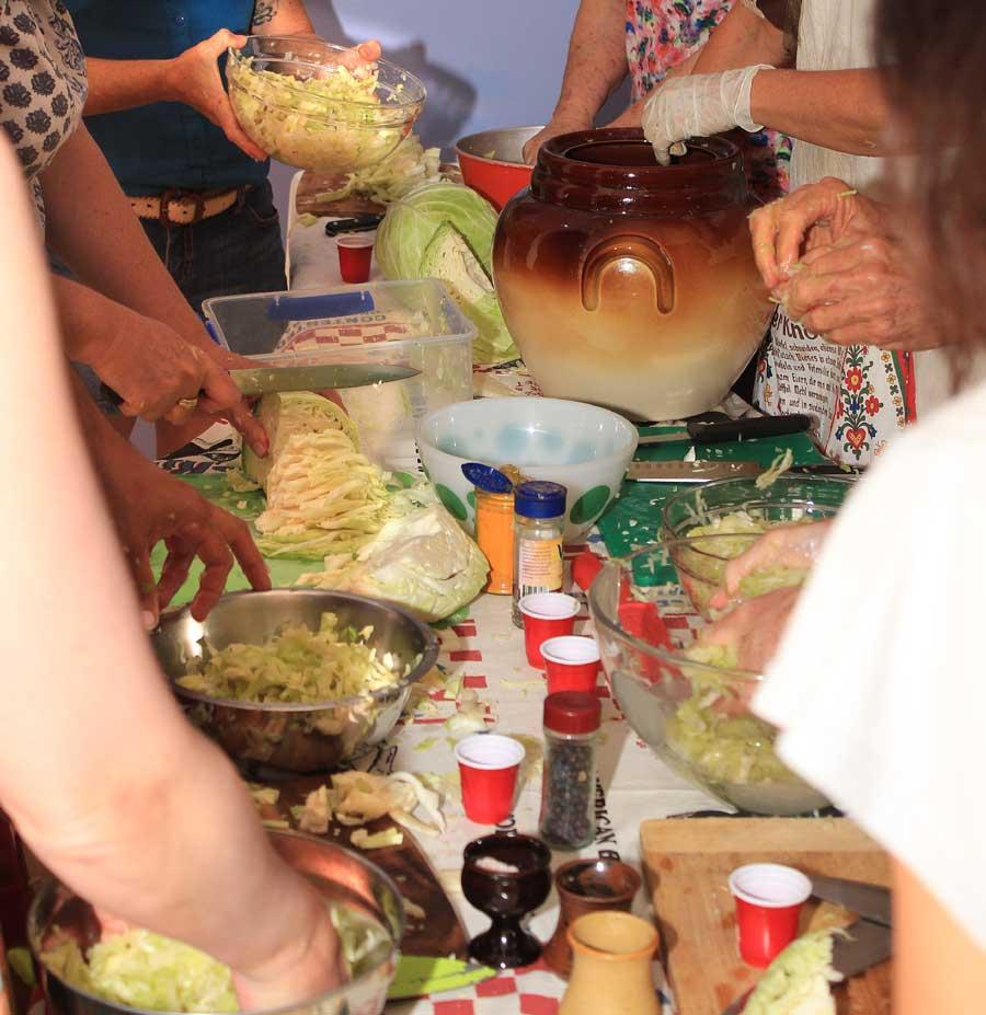 Sauerkraut Class