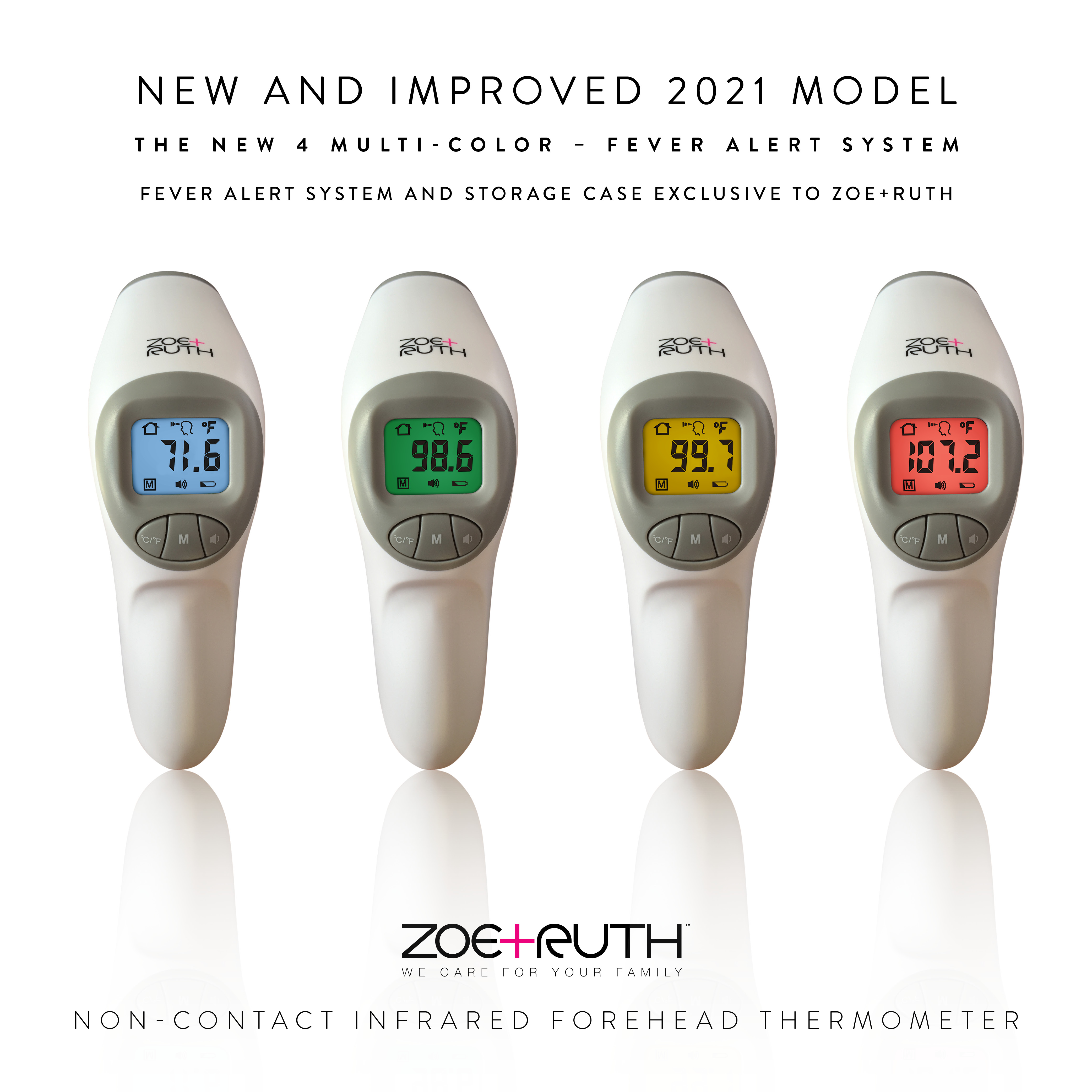 ZoeRuth Infrared thermometer  Medical grade