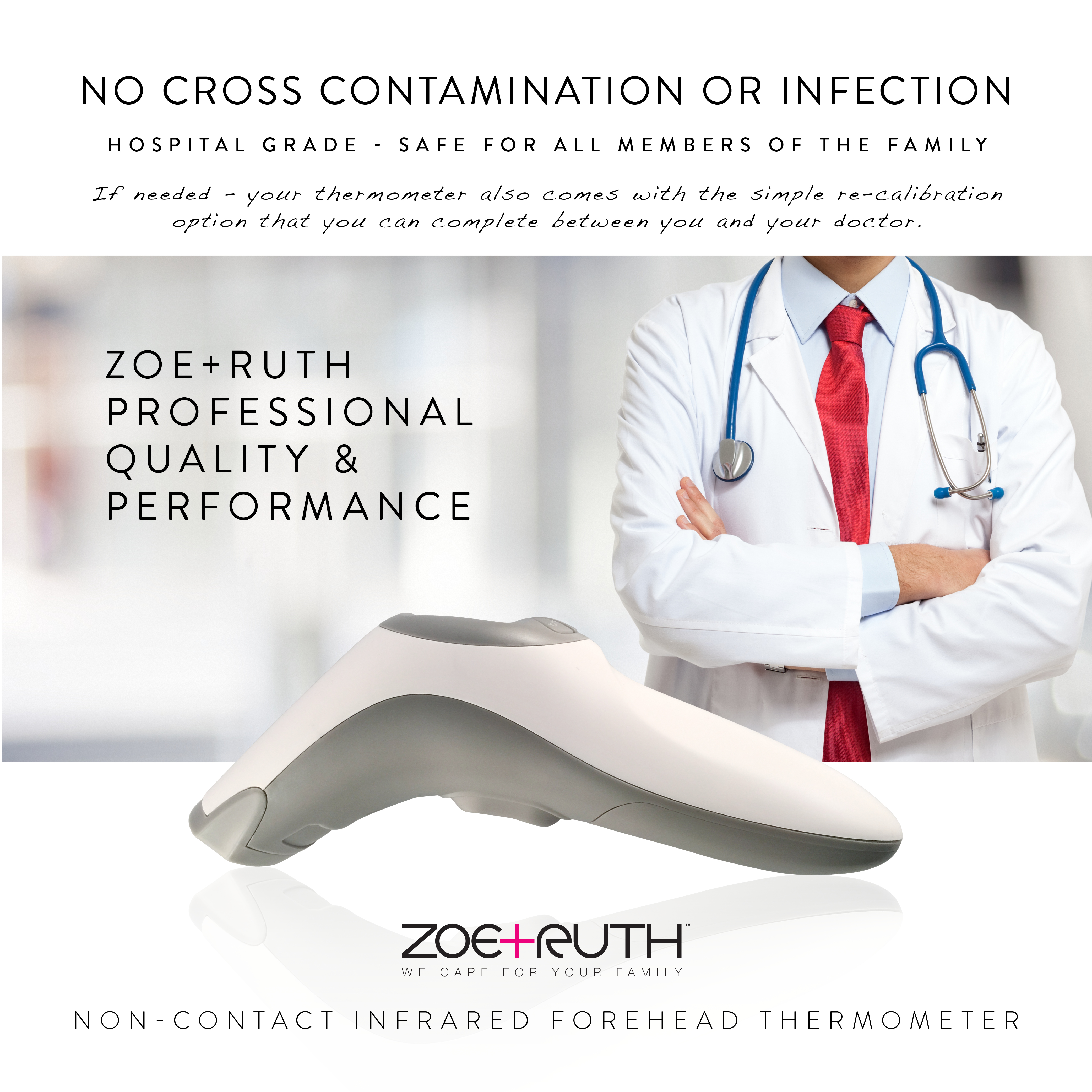 ZoeRuth Infrared thermometer  NonContact