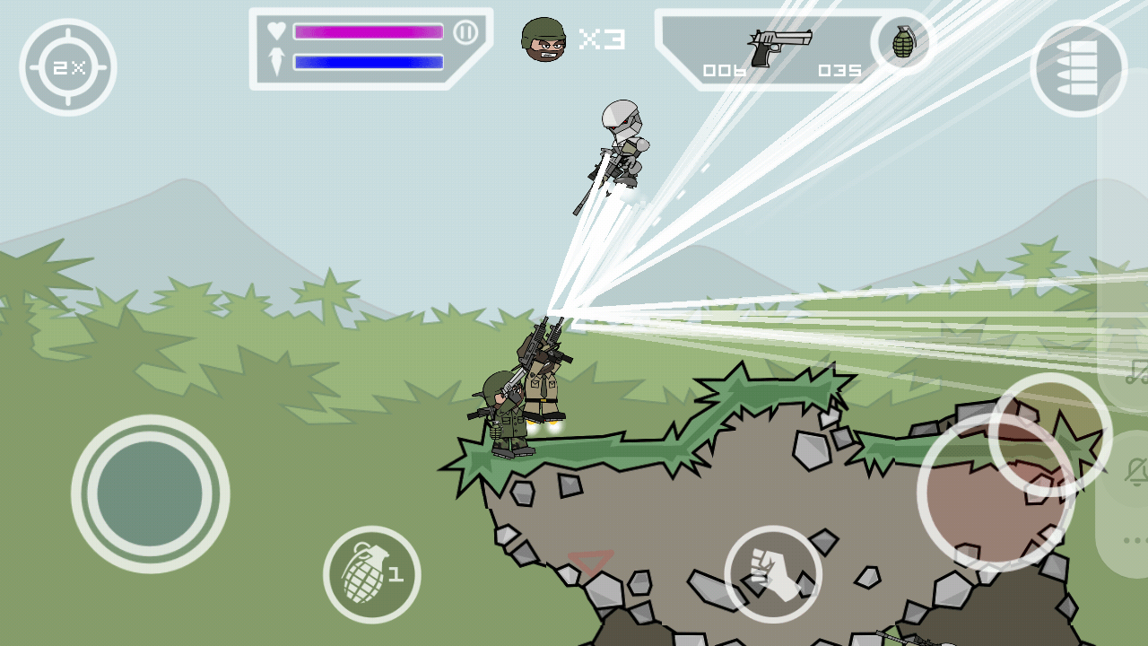mini militia pro pack unlimited free download