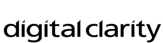 dc logo black and white
