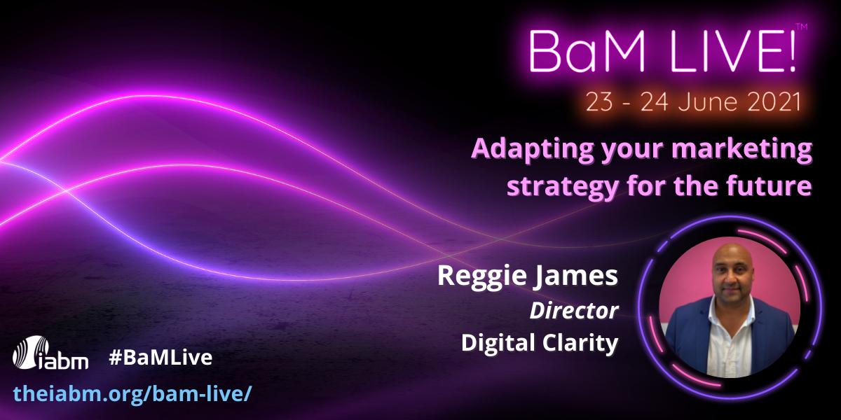 Reggie James BaM Live 2021