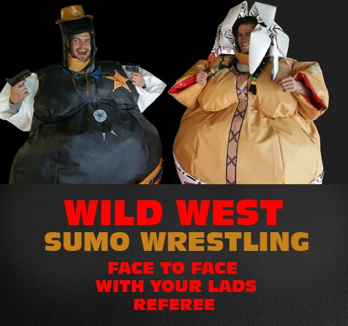 Wild West Sumo Wrestling – Funny Stag Do Idea In Riga