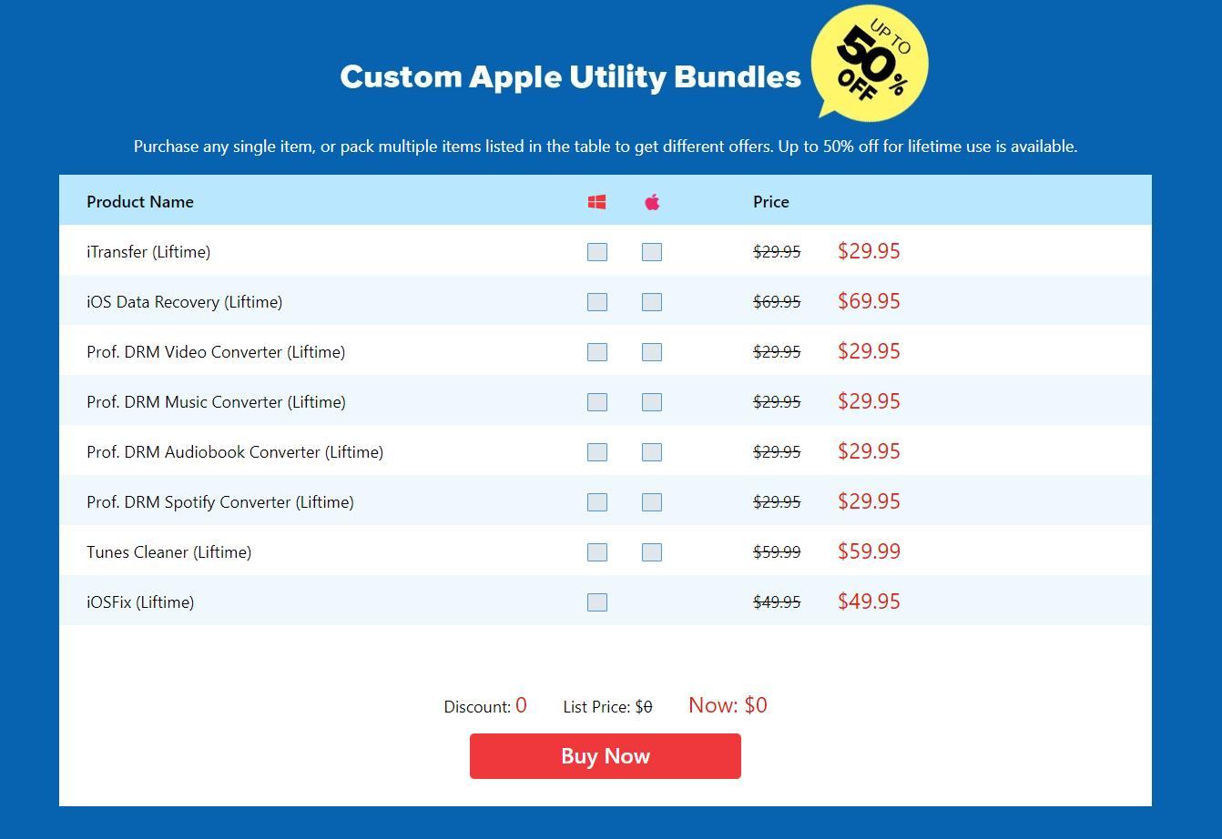 Custom Apple Utility Bundles