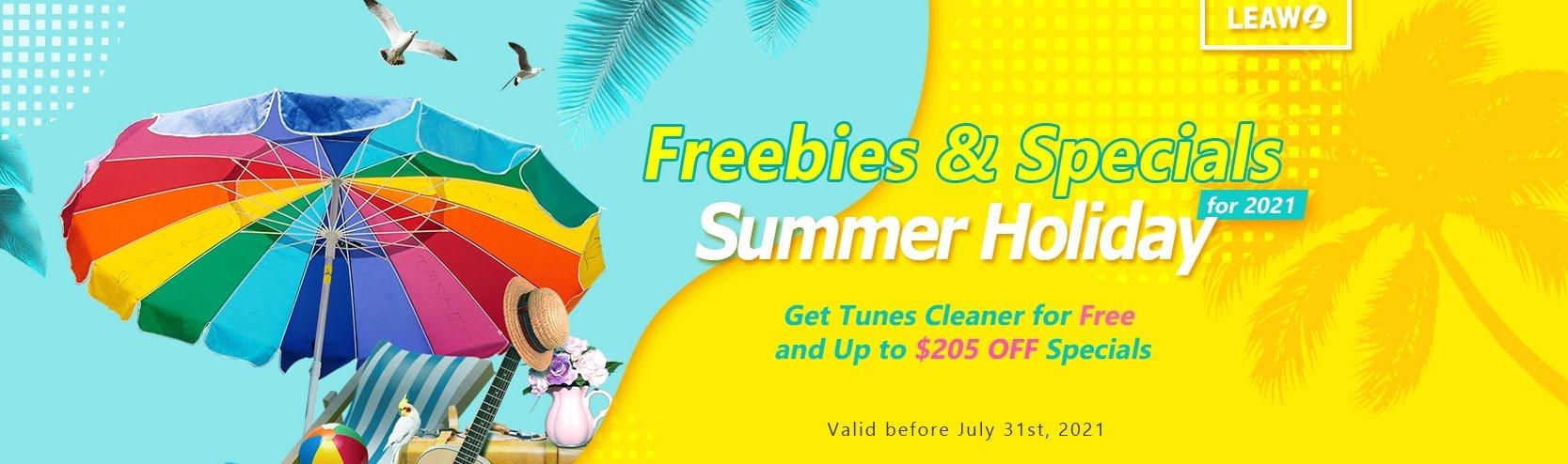 summer holiday promo