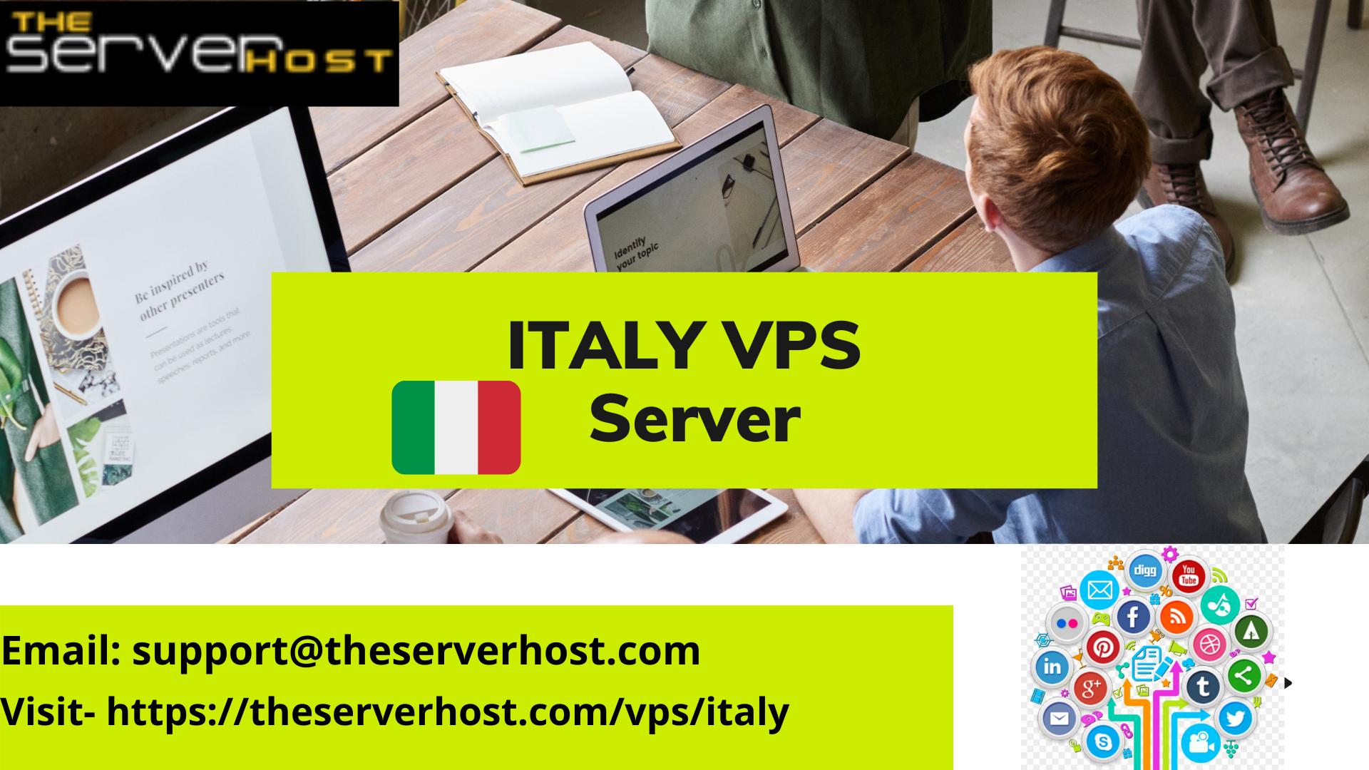 Italy VPS Server Hosting Provider