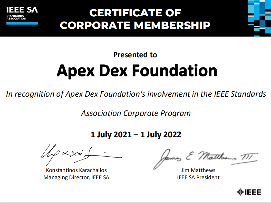 apex dex foundation