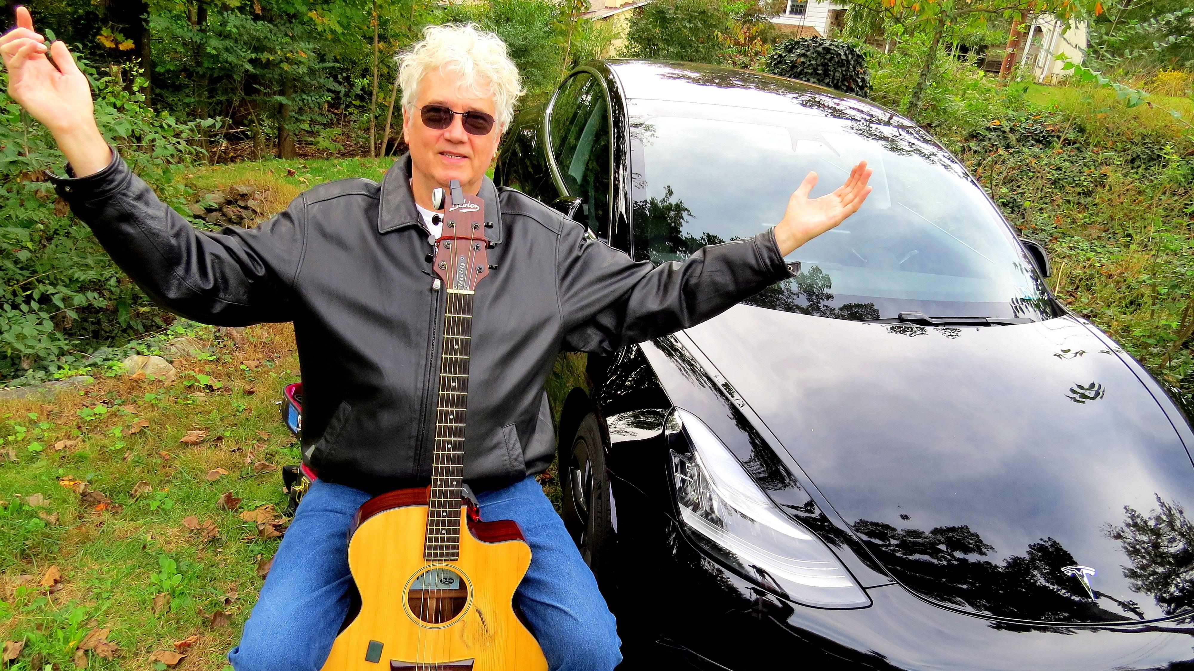 Photo RickDenzien ZeroEmissionMusicianBreaks Record In Tesla