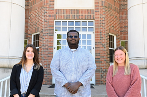 Morgan Martin and Kailee McCrary assisted Rooks Digital Owner Chris Bannon
