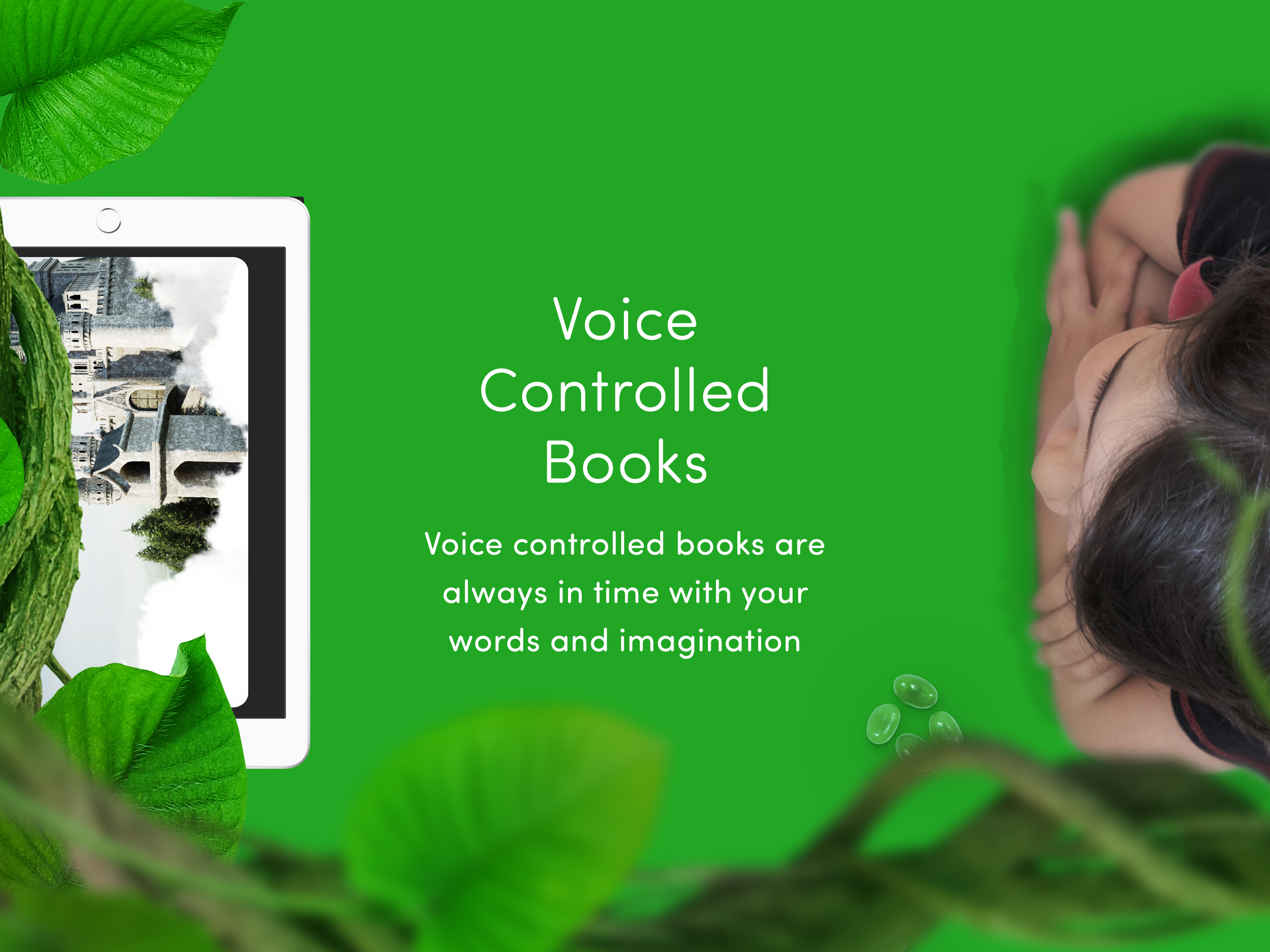 Using voice technology to create immersive reading experiences