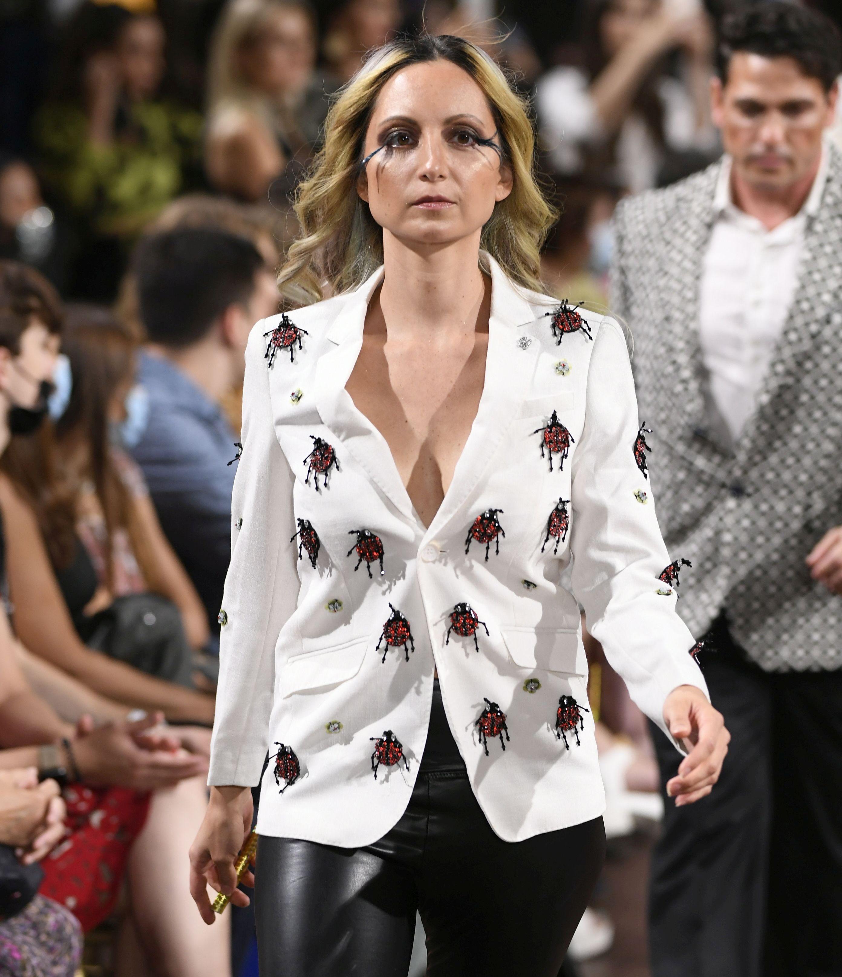 Super Model Dawn Mecca  Designer Elie Baleh Fashion Show