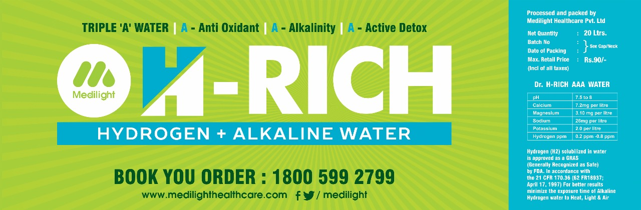 Hrich alkaline water benifits