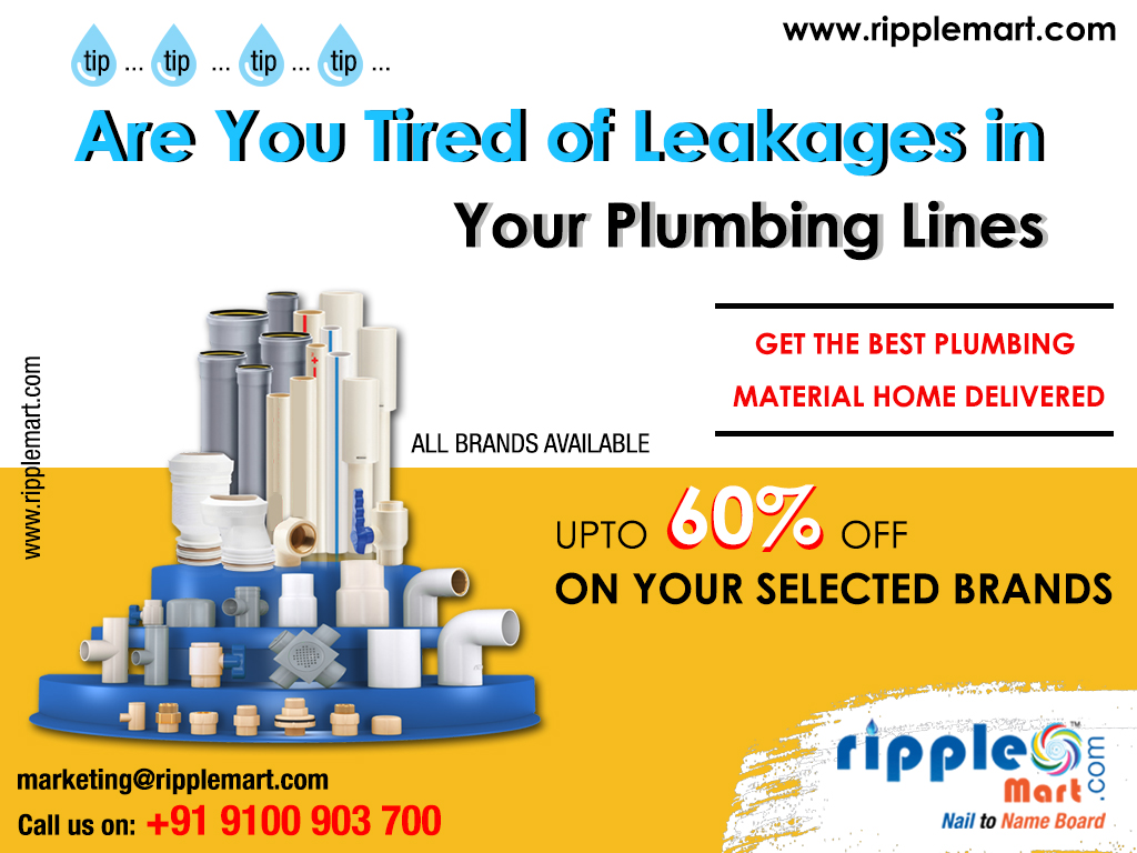 Buy Sanitary And Plumbing Pipes And Fittings Online In Hyderabad
