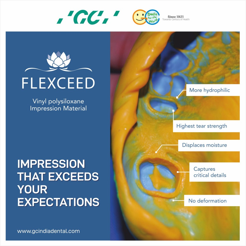 GC Flexceed the dental Impression material