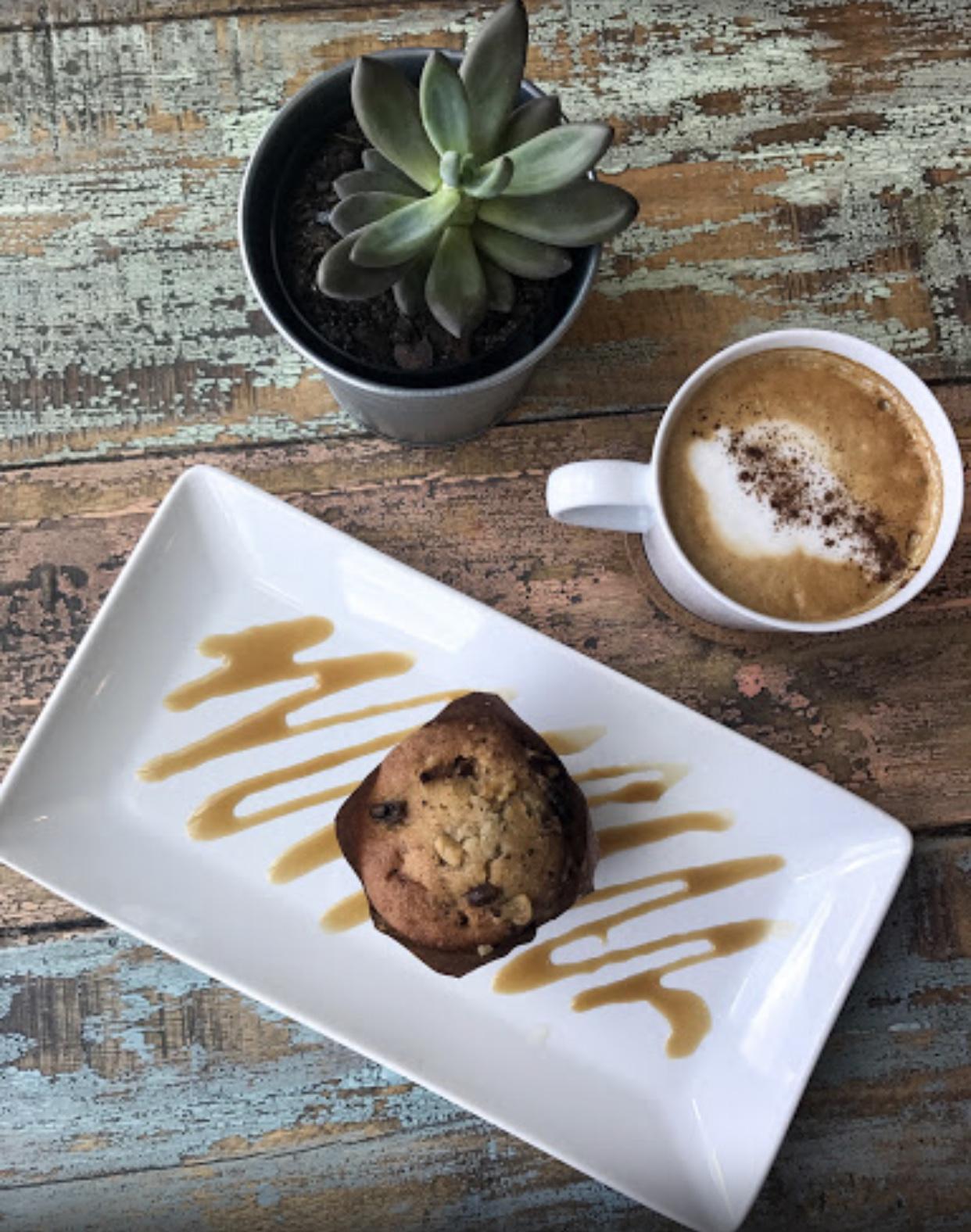Warm muffins