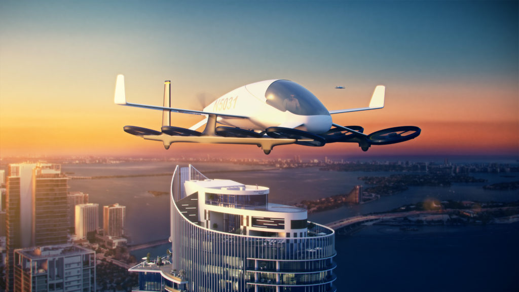 Paramount Miami Worldcenter Flying Cars SkyPort