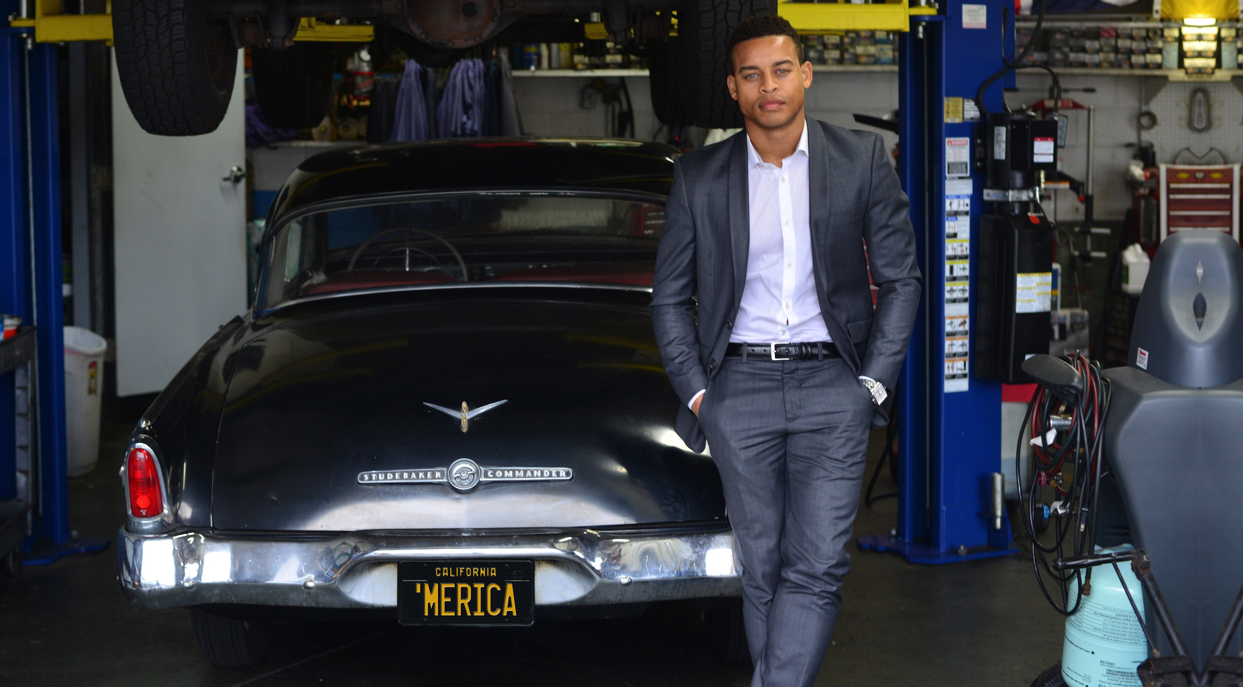 Photo of Robert Ri'chard  - car