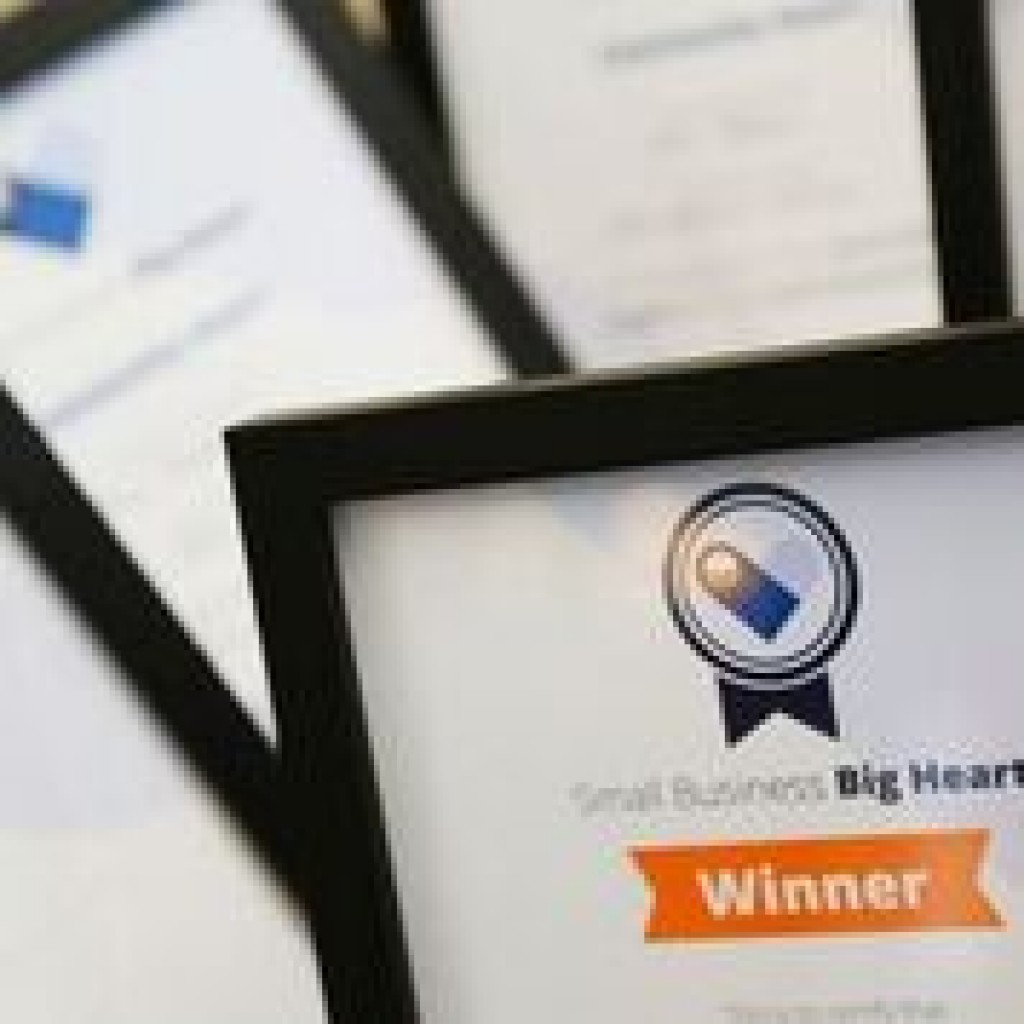 Small Business Big Hear Certificates