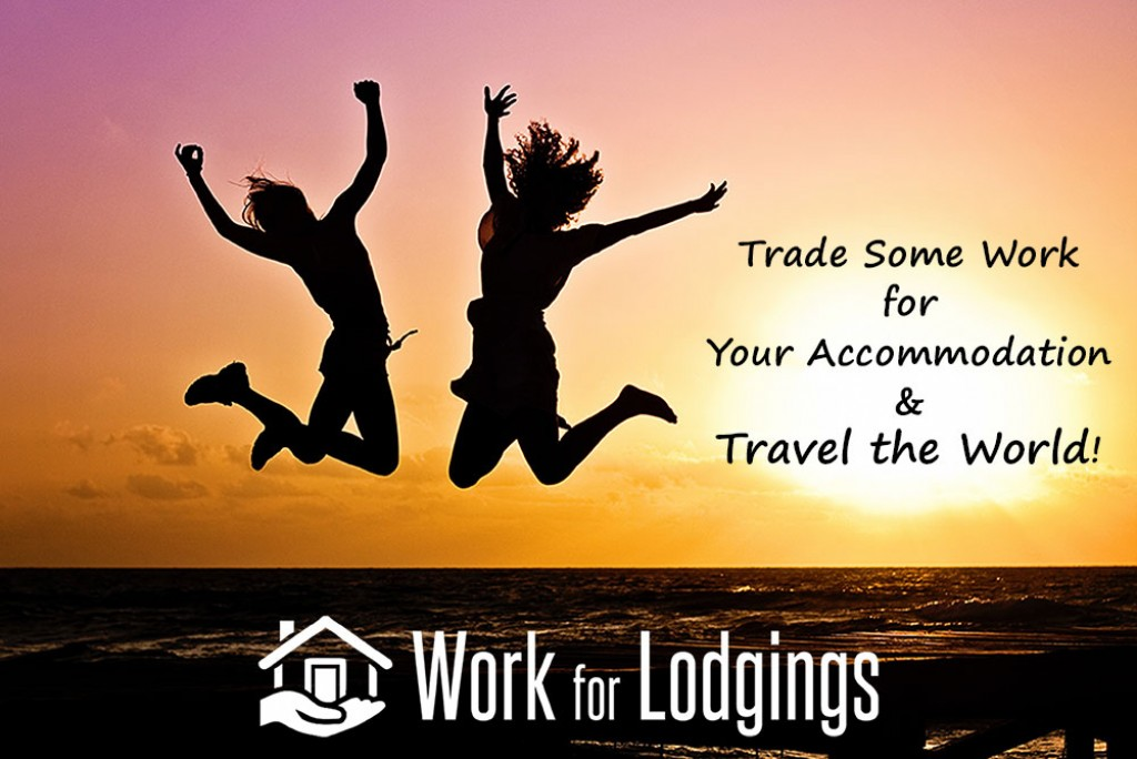 World travelers use Work For Lodgings