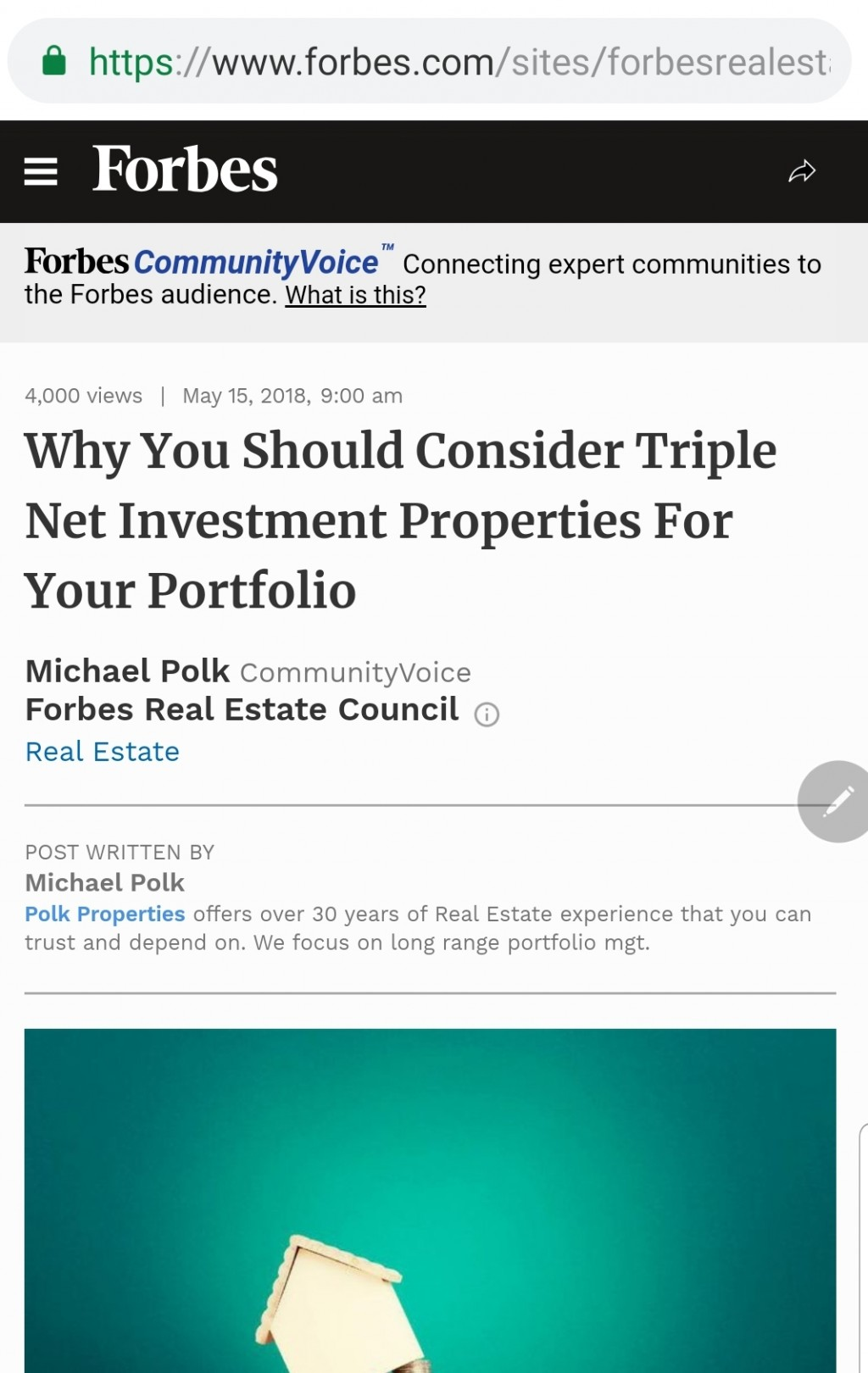 Forbescom Article Landing Page