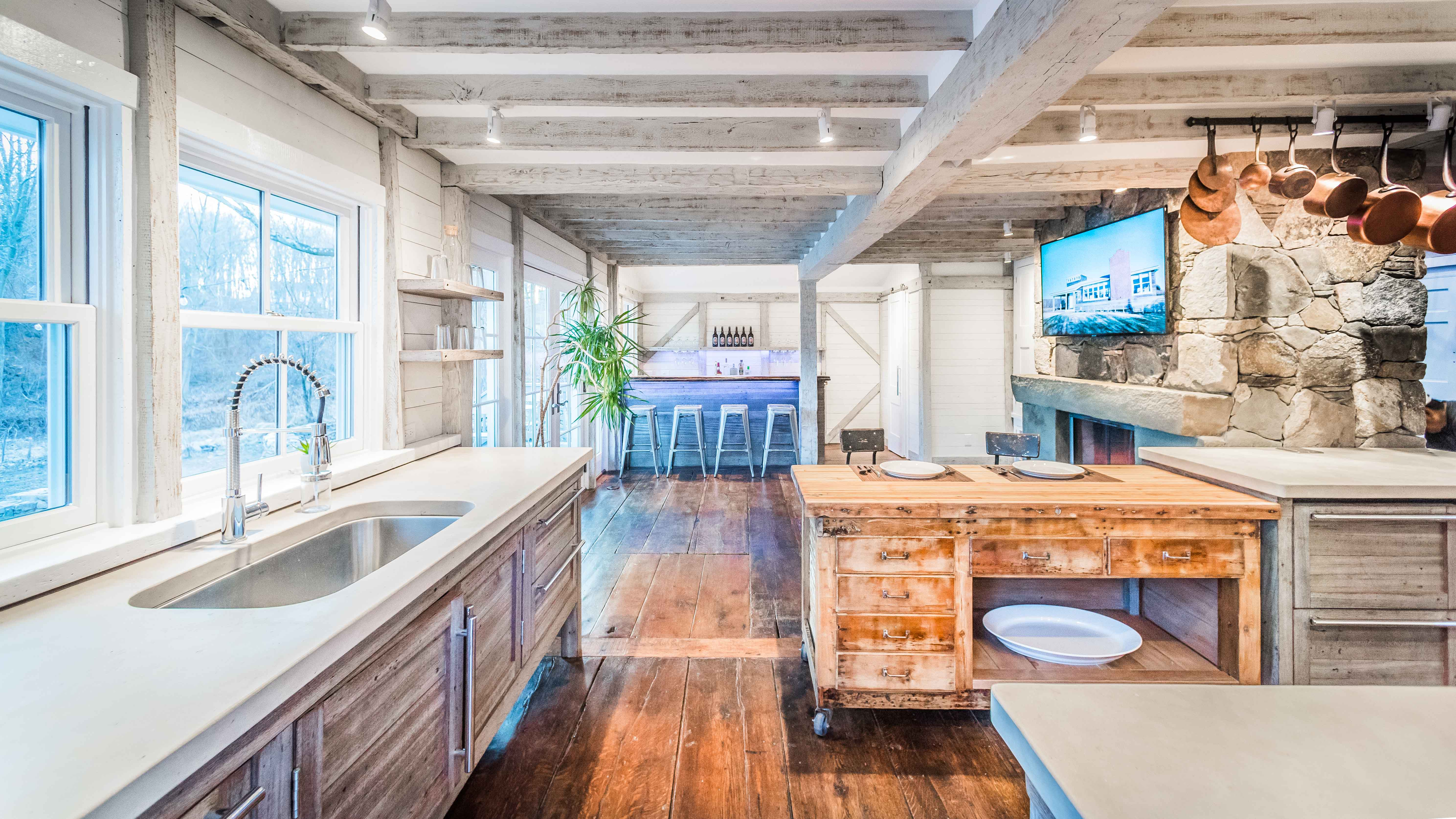 The All New 1812 Modern Farmhouse Deconstructed Kitchen