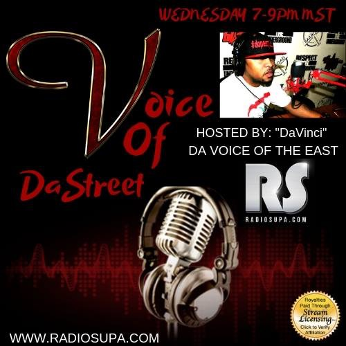 Voice Of The Streets is set to Premiere on Rap Station Radio