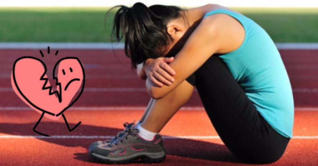 Running can heal a broken heart