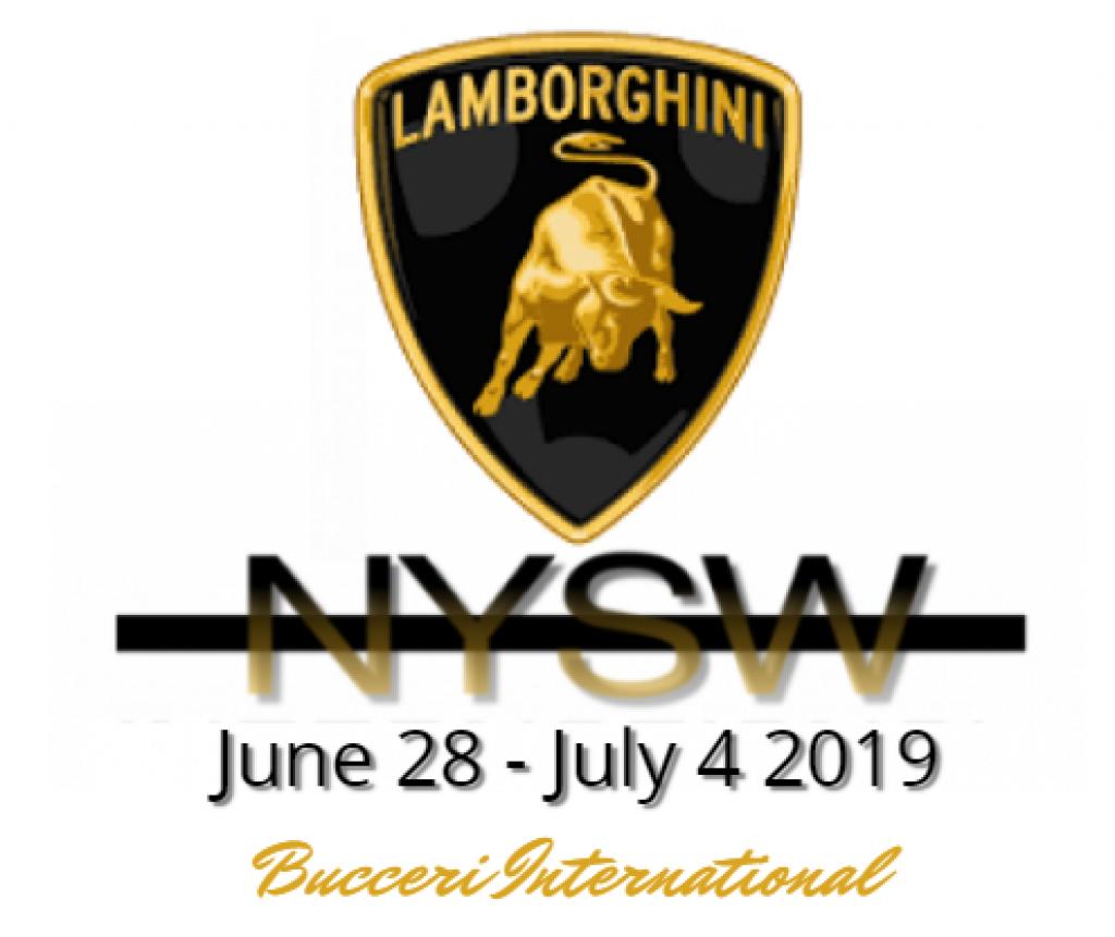 Lamborghini Title Sponsor for NYSW 2019