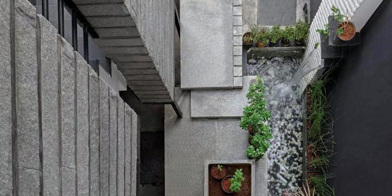 narrow plot size house design