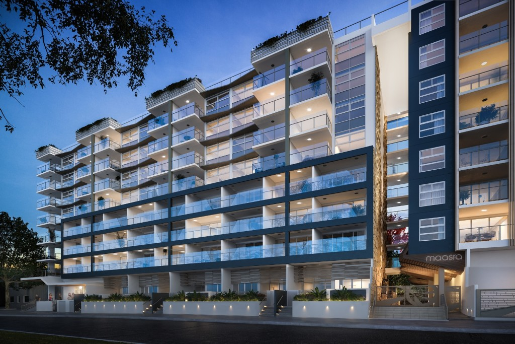 Maasra Apartments in Brisbane Australia