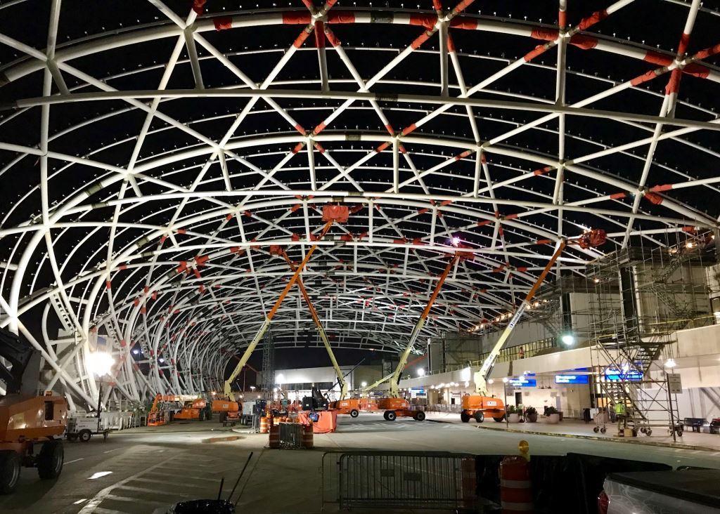 HartsfieldJackson Canopy Construction
