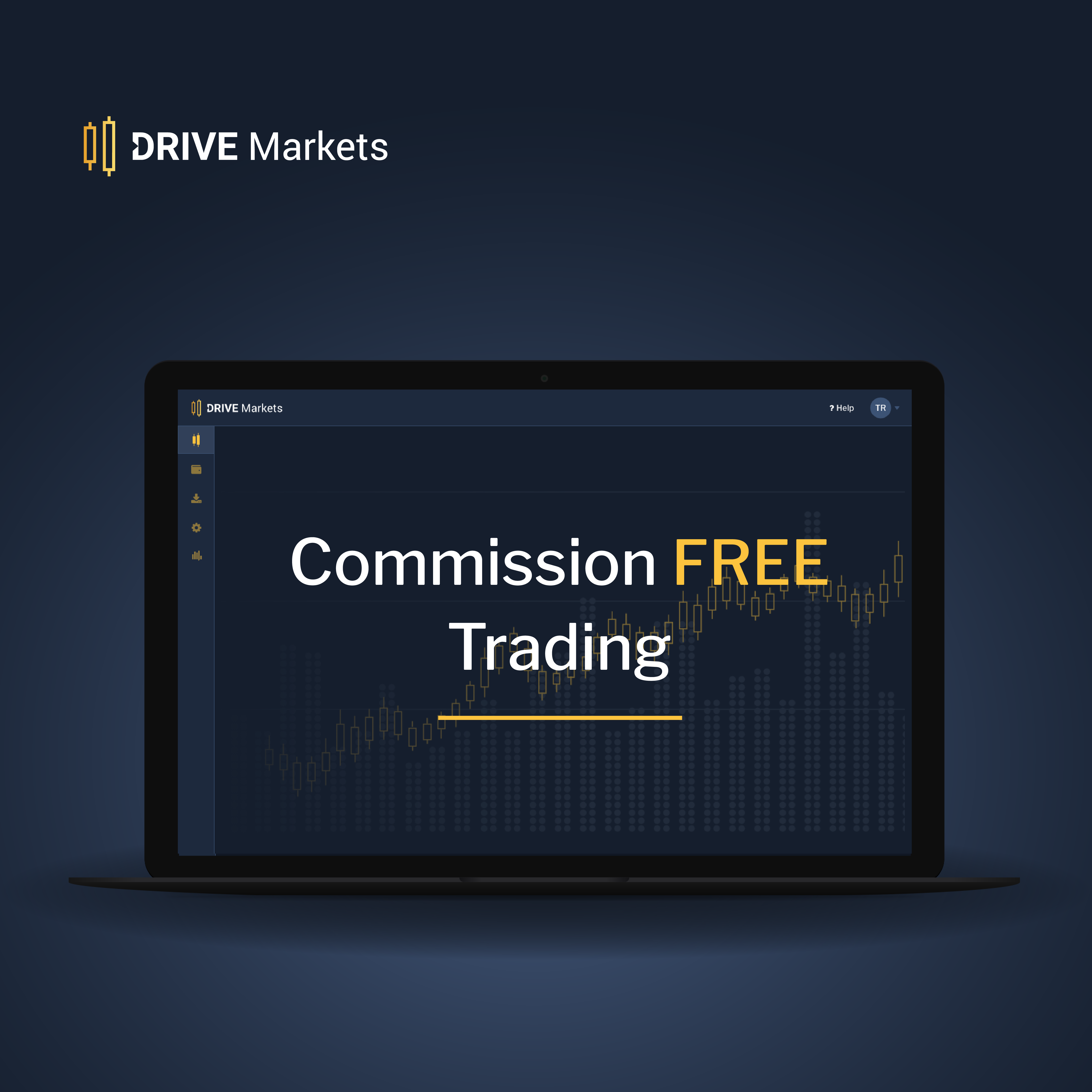 Commission free spot and futures trading