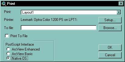 [O] Print with Native OS PostScript