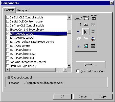 [O-Image] Adding an ESRI ODE control