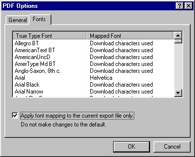[O] ArcMap font mapping - apply to current file only